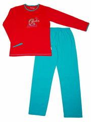 Очаровательная детская пижама, состоящая из кофты и брюк