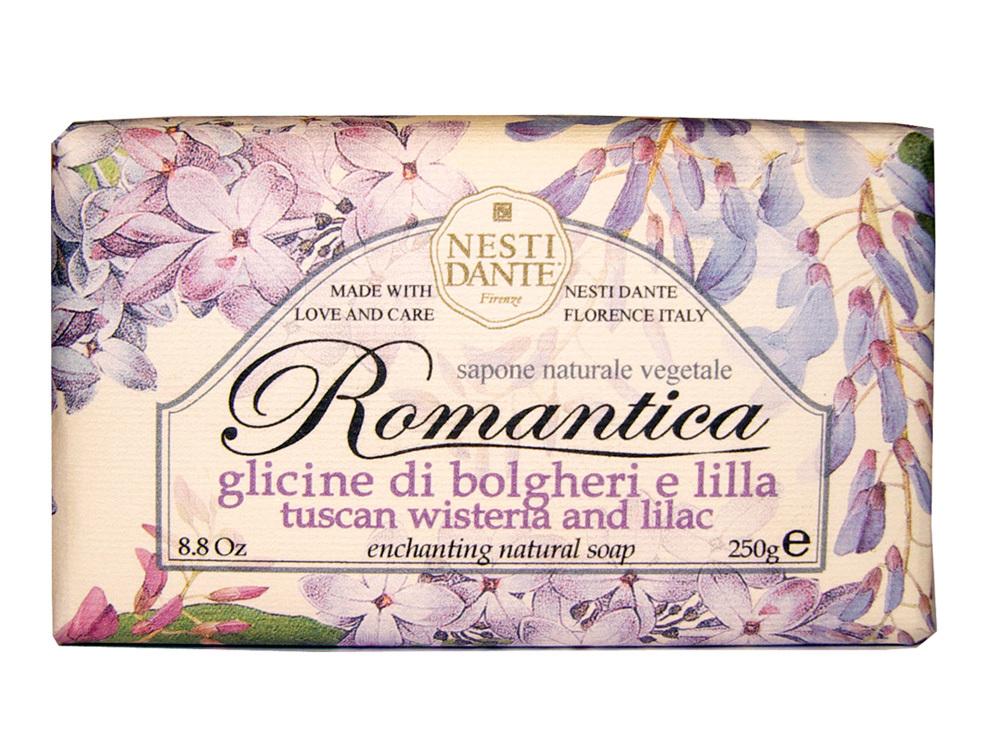 ROMANTICA Tuscan Wisteria & lilac / Тосканская глициния и сирень мыло 250 гр