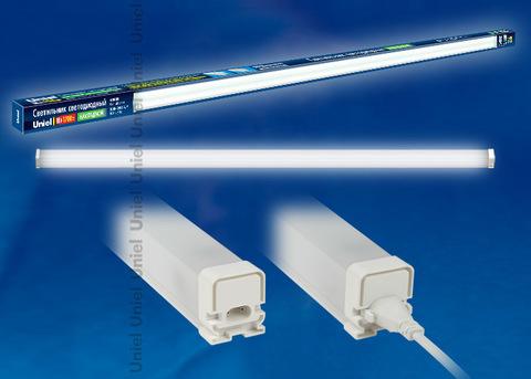 ULO-BL120-18W/NW/K IP54 WHITE Светильник светодиодный накладной, с коннектором. Белый свет. Корпус белый. ТМ Uniel.
