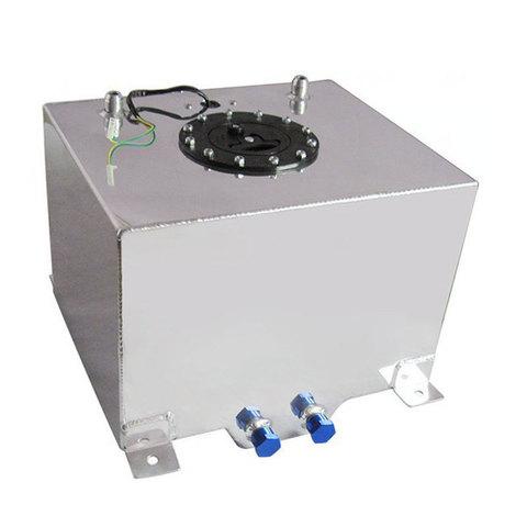 Алюминиевый топливный бак 30 литров для автоспорта с сенсором
