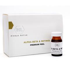 Holy Land Alpha-Beta & Retinol Premium Peel - Премиум пилинг химический выравнивающий
