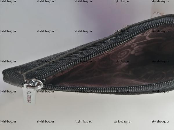 Коричневая ключница из кожи Nina Farmina 8909