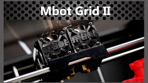 3D-принтер Mbot Grid II (Dual) Plus