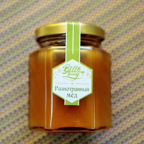 Медовик мёд разнотравный 200 мл