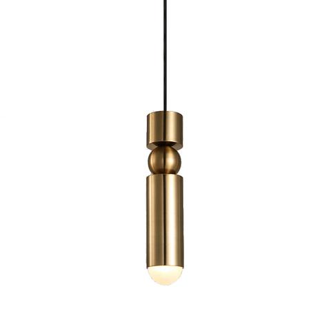 Подвесной светильник копия Fulcrum by Lee Broom (золотой)