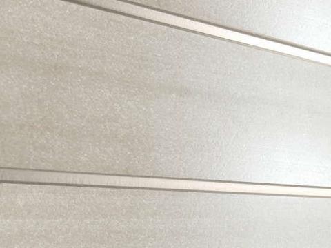 Профиль ДПК для заборов - SW Agger глянцевый. Цвет бежевый.