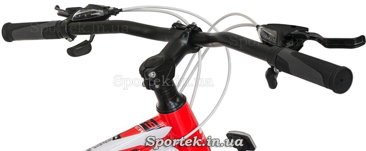Руль и вынос руля горного мужского велосипеда Formula Atlant DD (Формула Атлант ДД)
