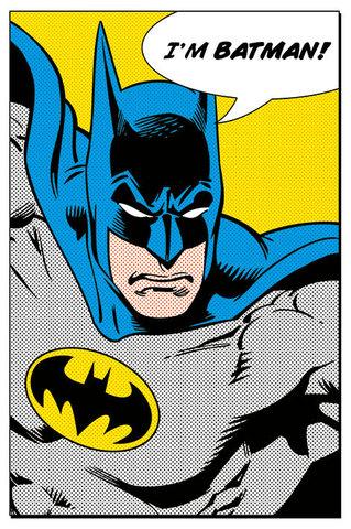 Постер Maxi Pyramid: DC: Batman (I'm Batman)