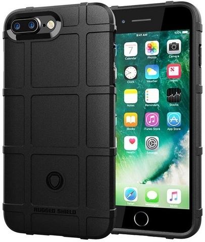 Чехол iPhone 7 Plus (8 Plus) цвет Black (черный), серия Armor, Caseport