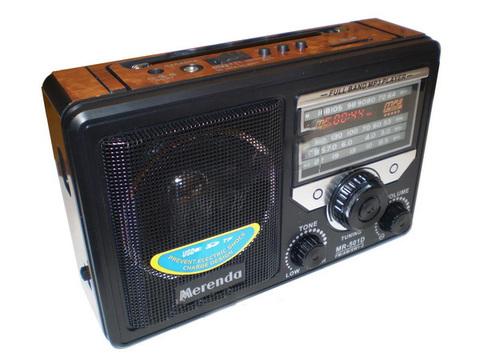 Радио Merenda MR501D встроенный аккумулятор (FM/USB/SD)