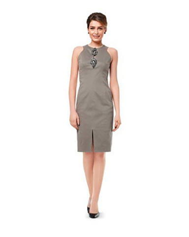 Выкройка Burda (Бурда) 6995 — Вечернее платье