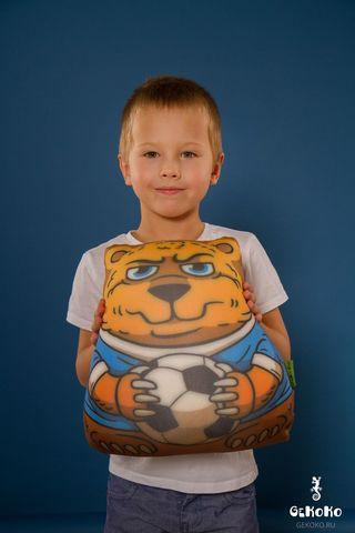 Подушка-игрушка «Медведь-футболист»-2