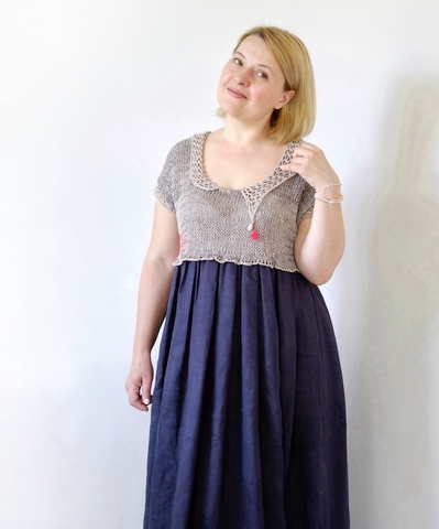 Описание FOLK Dress (автор Лена Родина)