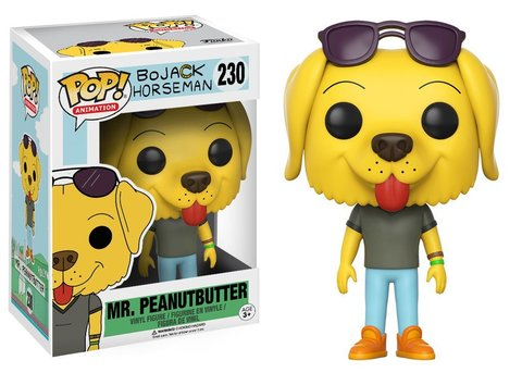 BoJack Horseman Mr. Peanutbutter Funko Pop! Vinyl Figure || Конь БоДжек - Мистер Подхвост