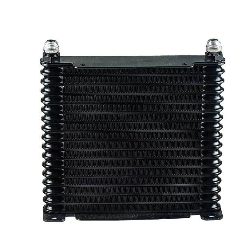 Масляный радиатор авто купить 17 рядов AN10 Trust style