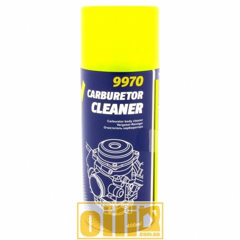 Mannol 9970 CARBURETOR CLEANER 400мл - Очиститель карбюратора аэрозольный (аналог ABRO)