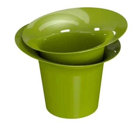 Цветочный горшок Акиби Модерн 1л Зеленый