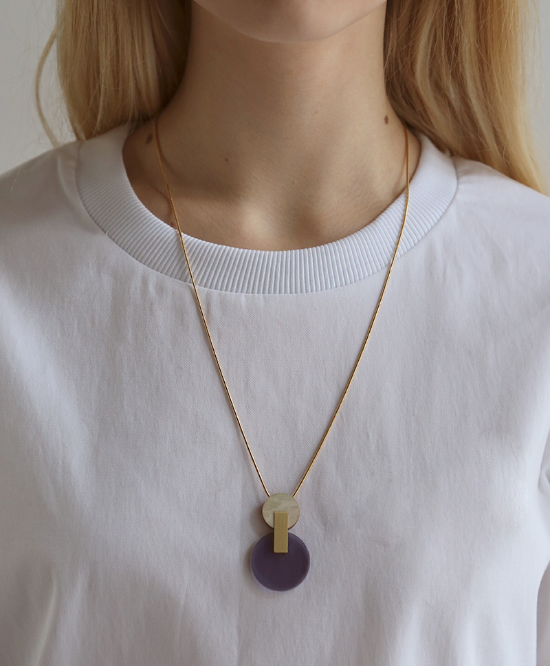 Подвеска Celeste I Necklace Navy