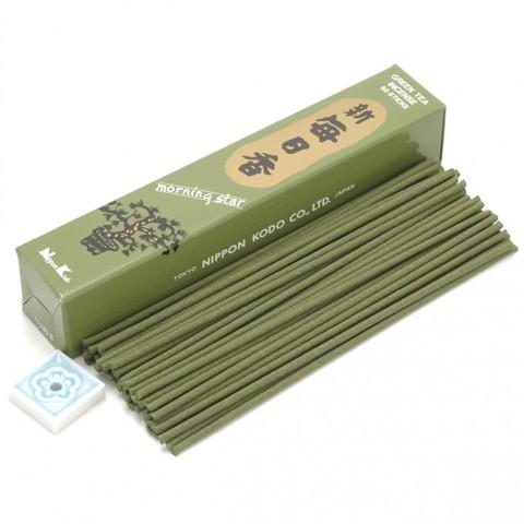 Японские благовония Morning Star MS Green Tea 50 шт