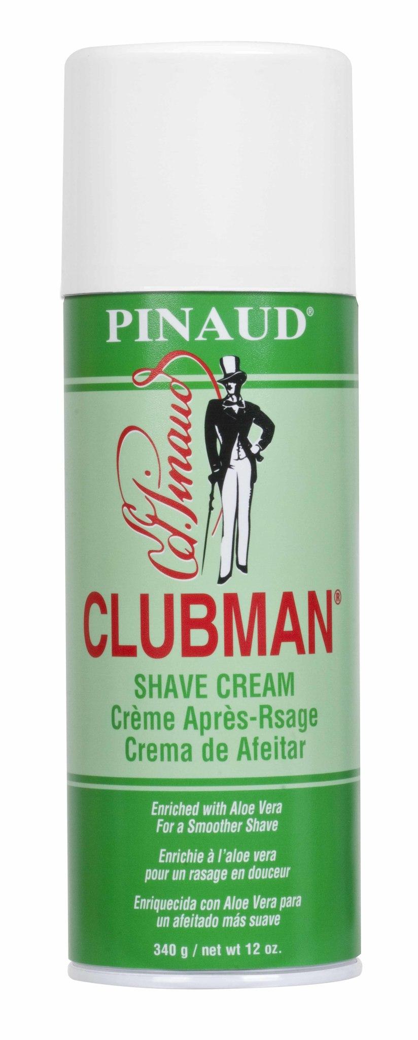 Clubman Shave Cream Классическая пена для бритья с алоэ вера, 340 г