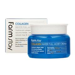 FarmStay Collagen Water Full Moist Cream - Крем для лица увлажняющий с коллагеном