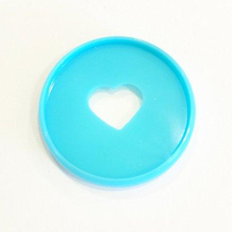 Диски- крепежный механизм для ежедневника Create 365 Planner Expander Rings - Teal - 4.3 см
