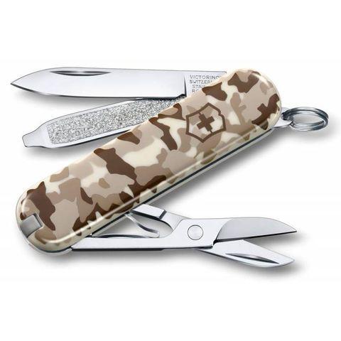 Нож перочинный Victorinox Classic (0.6223.941) 58мм 7функций камуфляж пустыни