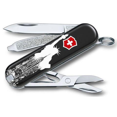 Нож перочинный Victorinox Classic (0.6223.L1803) New York 58мм 7функций микс