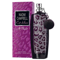Naomi Campbell Туалетная вода Cat Deluxe at Night 75ml (ж)