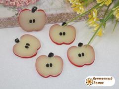 Пластиковый декор долька яблочка