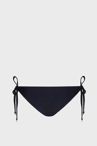 Женские черные трусики от купальника Calvin Klein