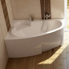 Ванна асимметричная 150х100 см левая Ravak Asymmetric C441000000 фото