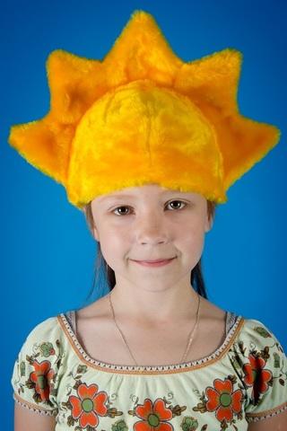 Карнавальная шапочка Солнышко