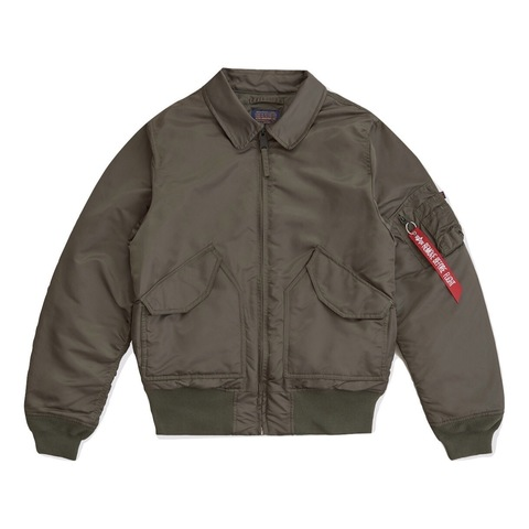 Куртка Alpha Industries CWU 45/P Sllim Fit Rep. Grey (Серая)