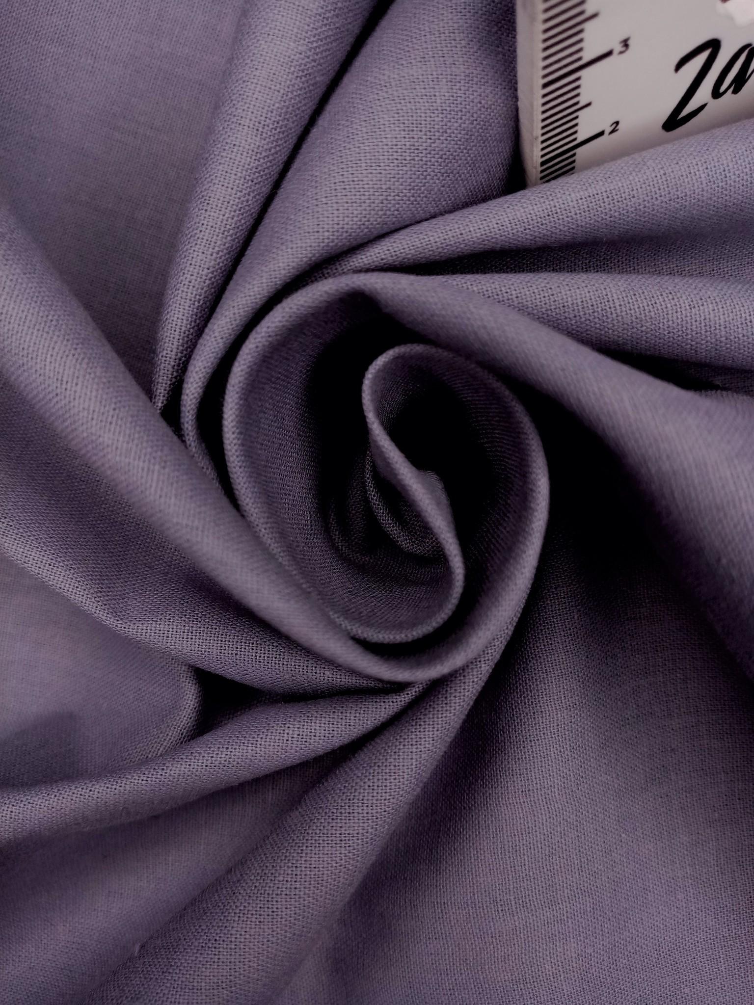 Ранфорс  гладкокрашеный Серо-синий