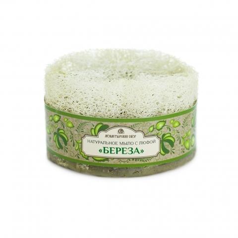 Натуральное мыло с люфой