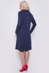 """Комфортное платье, великолепно смотрится на любом типе фигуры. Силуэт """"трапеция"""", рукав """"реглан"""", функциональные карманы, по спинке имитация застежки на пуговицах.  Длина: 44-52р - 96-98см"""