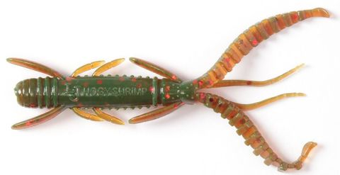 Мягкая приманка Lucky John Series HOGY SHRIMP 2,2in (56 мм), цвет 085, 10 шт.