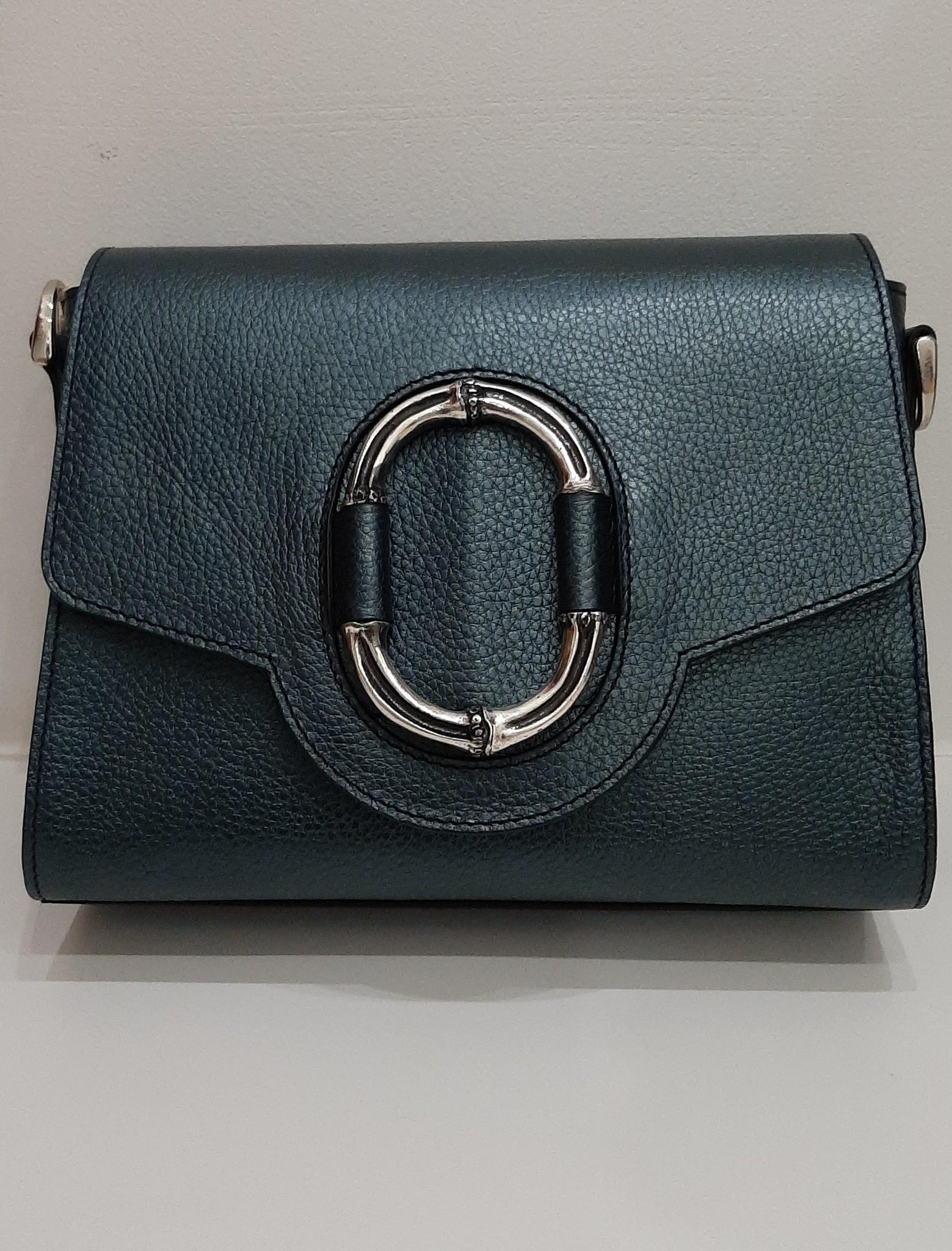 3504 сине/зеленый Сумка Deboro