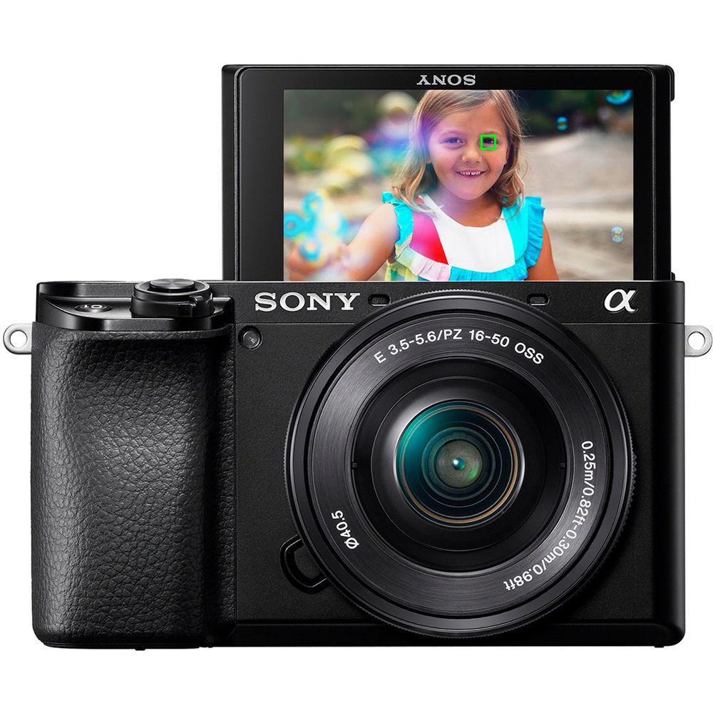 Фотоаппарат Sony ILCE-6100LB чёрного цвета купить в Sony Centre Воронеж