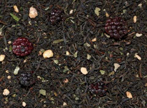 Черный чай Кленово-ягодный (ежевика)