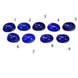 Лазурит комплект 9 камней