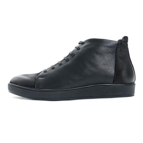Зимние ботинки на натуральном меху vorsh v_9217vm ч кож+нуб купить