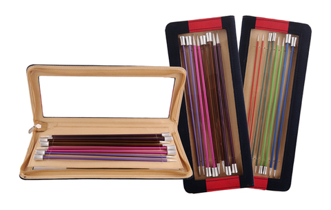 KnitPro Zing Набор прямых спиц 25 см