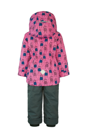 Uki kids  демисезонный комплект для девочки  Бельчонок