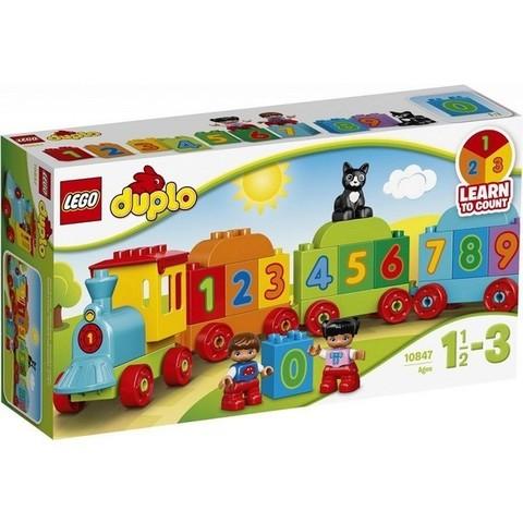 LEGO Duplo: Поезд считай и играй 10847 — My First Number Train  — Лего Дупло