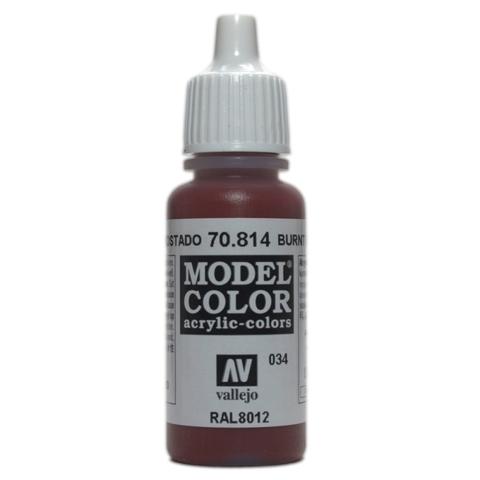 Model Color Burnt Red 17 ml.