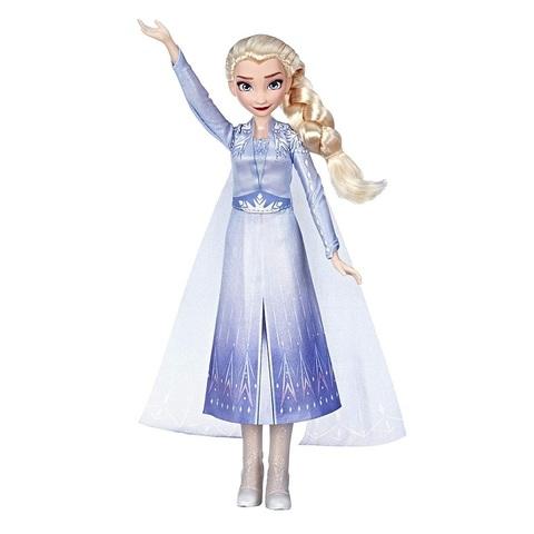 Дисней Холодное сердце 2 Эльза поющая кукла Hasbro