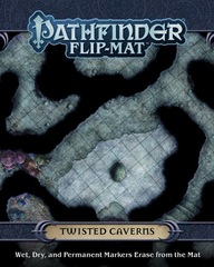 PFRPG Flip-Mat Twisted Caverns