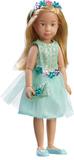 Kruselings. Кукла София в летнем праздничном платье 23 см